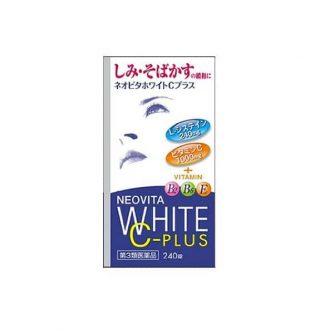 Viên uống trắng da Vita White Neovita White C-Plus 2018 Nhật Bản