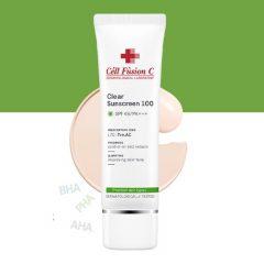 kem chống nắng CELL FUSION Clear Sunscreen cho da mụn