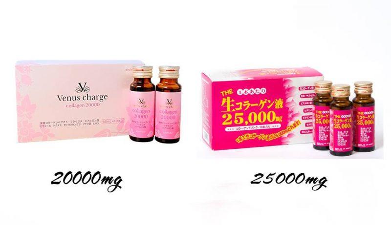 Review + Hàm lượng + Giá Các loại collagen đang bán tại nhật Bản 4
