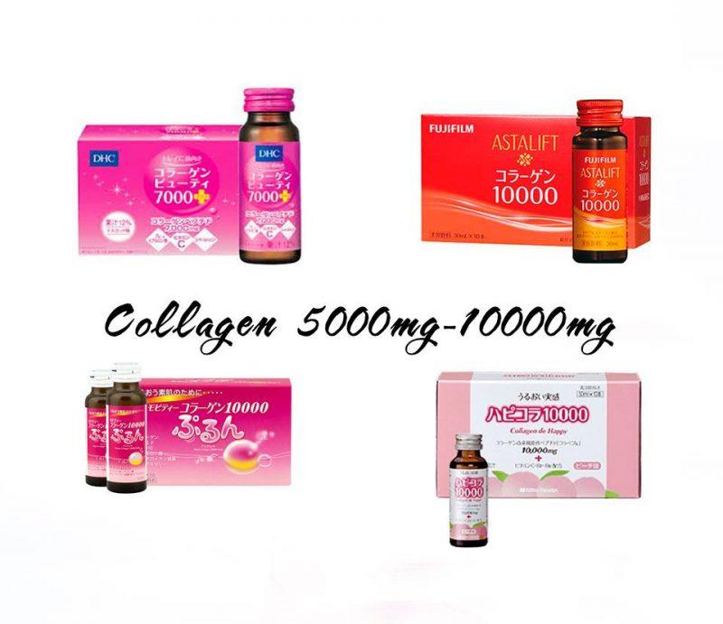 Review + Hàm lượng + Giá Các loại collagen đang bán tại nhật Bản 2