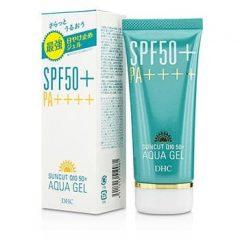 Kem chống nắng DHC Suncut Q10 50+ Aqua Gel PA++++ nhat ban