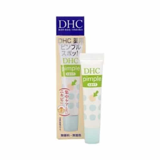 Kem trị mụn DHC Pimple spot 3