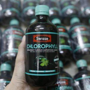 Nước diệp lục Úc Swisse Chlorophyll 500ml có tốt không? 4