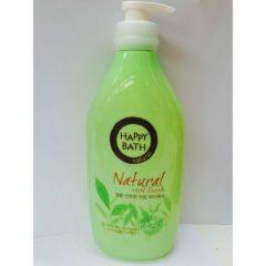 Sữa tắm Happy Bath hương Trà Xanh – Natural Real Fresh (900ml) Hàn Quốc
