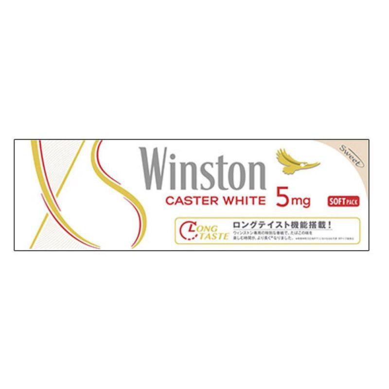 winston caster sô 5, hàm lượng nicotin 5mg