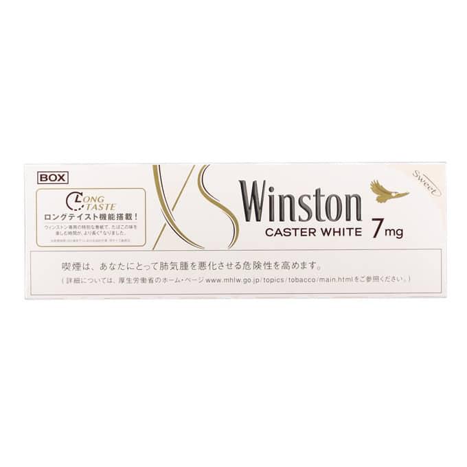 winston caster white sô 7, hàm lượng nicotin mg