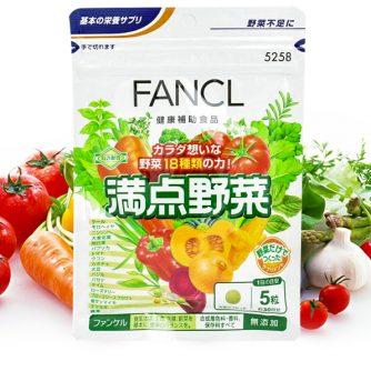 Viên uống rau củ,vitamin  Fancl 1