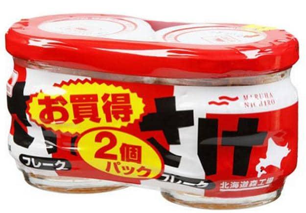 Sản phẩm đầu tiên được đông đảo chị em lựa chọn đó là ruốc cá hồi Hokkaido với khối lương 60g*2.