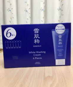 Sữa rửa mặt Kose trắng da Sekkisui White Washing Cream 6