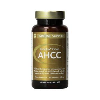 Vien uống fucoidan Kinoko gold AHCC 1
