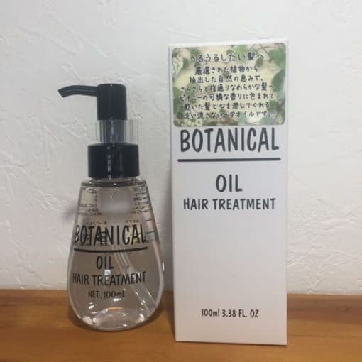 Dầu dưỡng tóc Botanical oil hair treatment 4