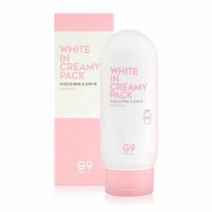 Kem Tắm Trắng G9 Skin White In Creamy Pack Hàn Quốc 1