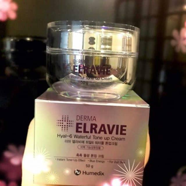Kem Elravie hyal 6 waterful Tone Up Cream Hàn Quốc Rất dễ sử dụng và hiệu quả cao