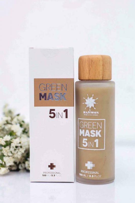 Mặt nạ 5 in 1 green mask Hạn chế tình trạng viêm nang lông, viêm da.