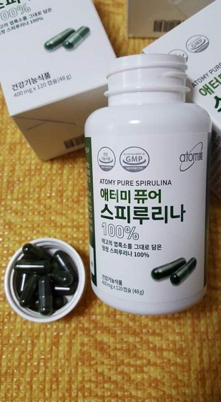 Tảo xoắn nguyên chất Atomy Pure Spirulina Hàn quốc 6
