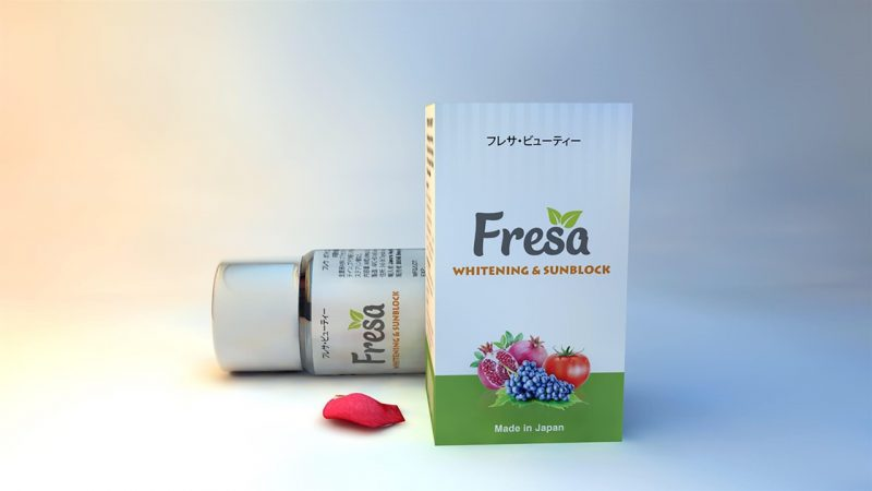 Viên uống trắng da chống nắng Fresa Cung cấp độ ẩm cho bạn một làn da luôn mịn màng, tươi trẻ