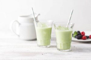 Bột trà sữa Matcha Milk Kataoka Nhật bản 200g 4