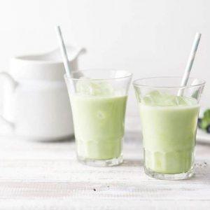 Bột trà sữa Matcha Milk Kataoka Nhật bản 200g 7
