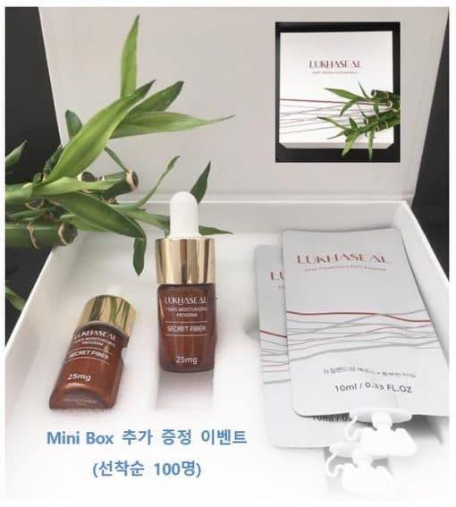 Dưỡng trắng da Lukhaseal Secret Fiber Hàn Quốc 6