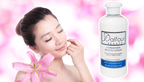 Dưỡng thể Dalfour Beauty lotion 3