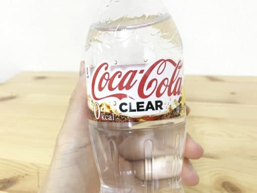 Nước ngọt Coca Cola Clear trong suốt 4