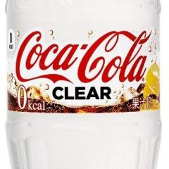 Nước ngọt Coca Cola Clear trong suốt