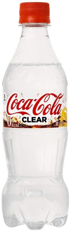 Cocacola clear trong suốt
