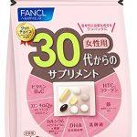 Viên uống đẹp da Fancl dành cho phụ nữ độ tuổi 30 11