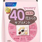 Viên uống đẹp da Fancl dành cho phụ nữ độ tuổi 30 12