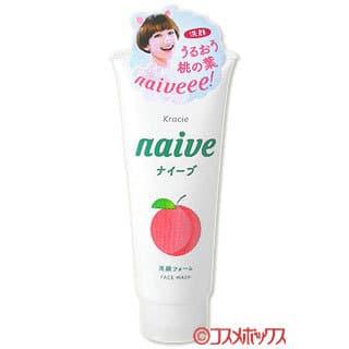 Sữa Rửa Mặt Kracie Naive Face Wash hương đào