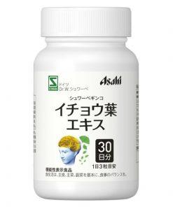 Bổ não Ginkgo Asahi – Tăng cường trí nhớ 7