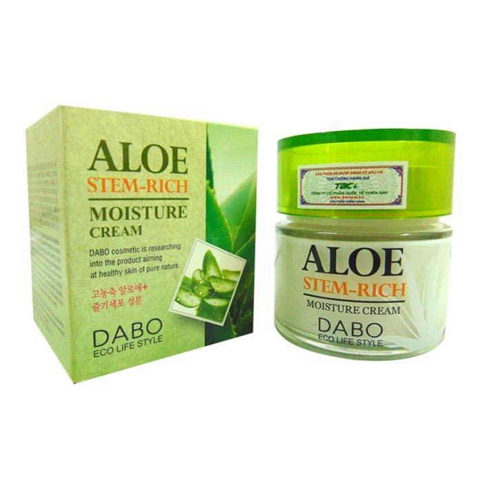 Kem Lô Hội dưỡng da DABO Aloe Stem-Rich Cream