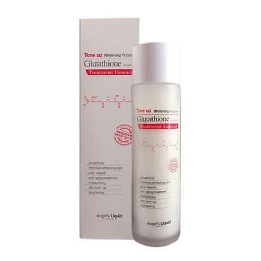 Nước hoa hồng Glutathione treatment essence tone up whitening program chứa thành phần gì?