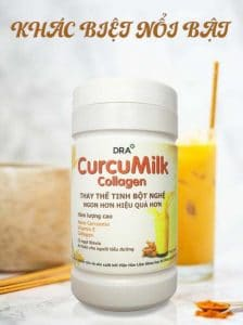 Sữa nghệ Nano Curcumilk Collagen