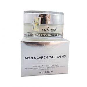Kem dưỡng da trị nám ban ngày Sakura Spots Care & Whitening Day Cream