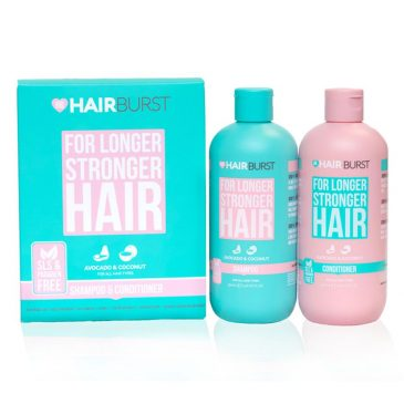 Bộ dầu gội xả HairBurst For Longer Stronger Hair
