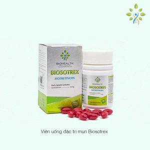 thông tin Biosotrex Viên uống đặc trị mụn