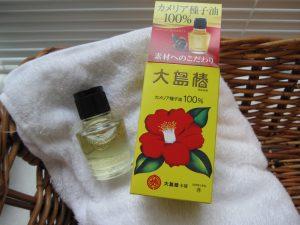 Tinh dầu dưỡng tóc hoa trà Oshima Tsubaki Nhật Bản