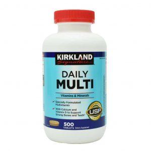 Viên uống bổ sung vitamin tổng hợp Kirkland Signature Daily Multi Vitamins & Minerals