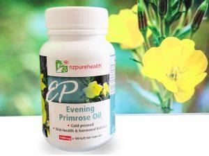 Viên uống dầu hoa anh thảo chiều giảm stress, cân bằng nội tiết tố Nzpurehealth New Zealand