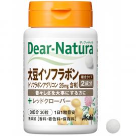 Viên Uống Asahi Dear Natura Mầm Đậu Nành Soy isoflavone 30 viên