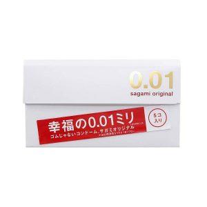 Bao cao su Sagami Original siêu mỏng 0.01
