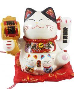 Mèo vẫy tay - Kim vận đón phúc