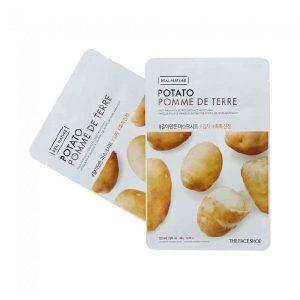 Mặt nạ khoai tây cấp ẩm và trị mụn Real Nature Potato Face Mask