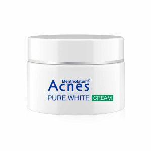 Kem dưỡng trắng da Acnes Pure White Cream của Nhật Bản