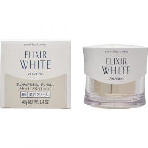 Kem dưỡng trắng da ban đêm Shiseido Elixir White Reset Brightenist của Nhật Bản