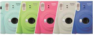 Máy chụp ảnh lấy liền FUJI INSTAX MINI 9 có mấy loại?