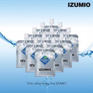 Cách sử dụng nước uống Nhật Bản IZUMIO Hydrogen Infused Water