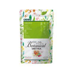 trà giảm cân detox botanical diet tea orihiro
