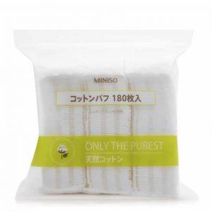 Công dụng của bông tẩy trang Miniso